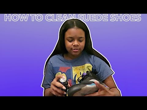 HOW TO CLEAN SUEDE SHOES 2019 | IAMPRECIOUS