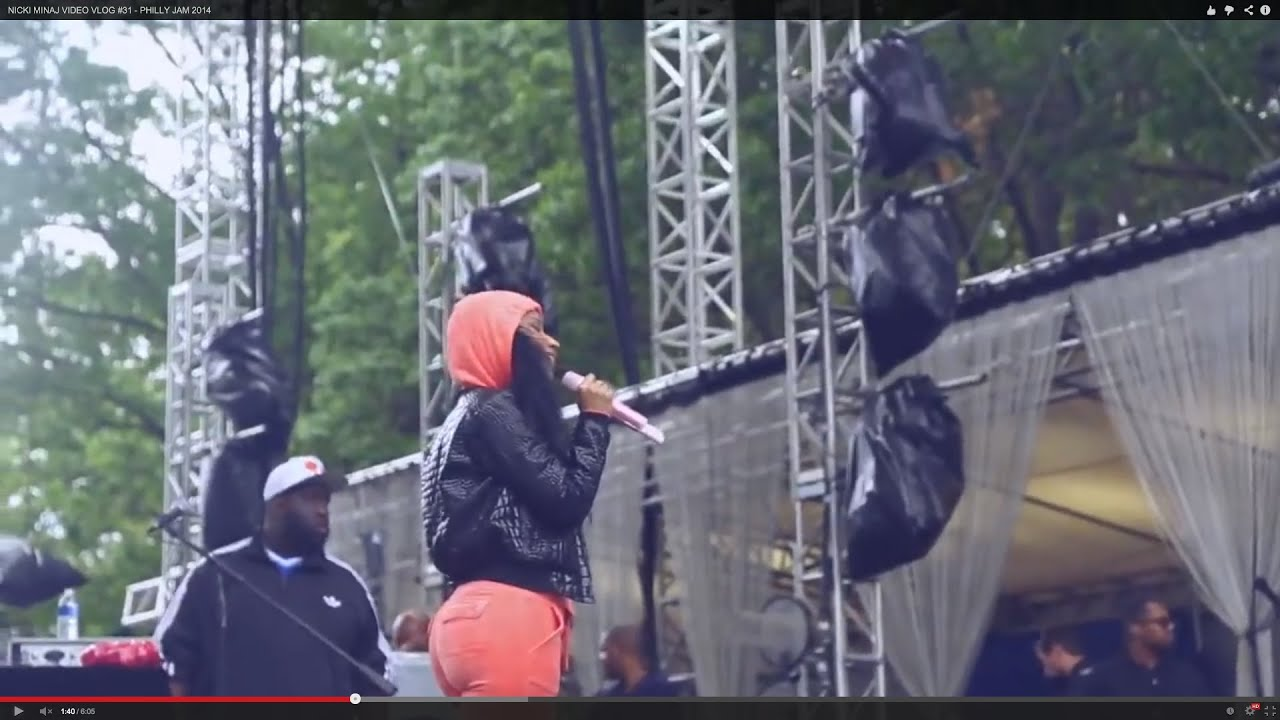NICKI MINAJ VIDEO VLOG #31 - PHILLY JAM 2014