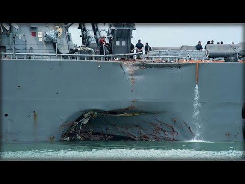 USS JOHN MCCAIN SEARCH AND RESCUE EFFORTS TAKE DARK TURN