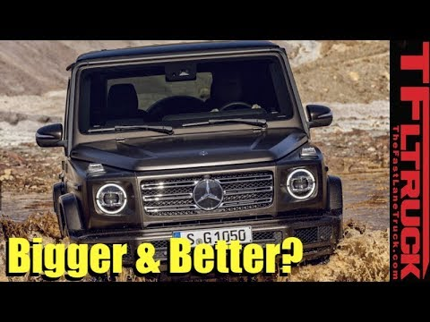 Breaking News Everything There Is To Know About The 2019 Mercedes Benz G Class
