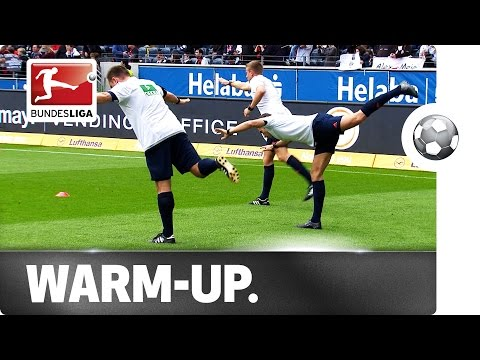 Referee Warm-up - Ballet Lesson in Frankfurt
