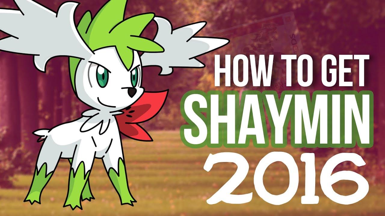 How to Get Shaymin and Shaymin Sky in Pokemon ORAS! (2016) - YouTube