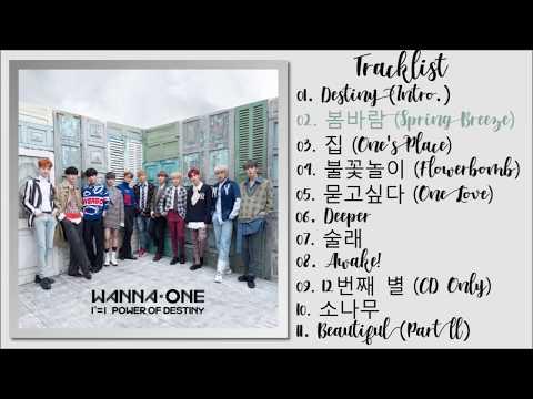 Wanna One ()  1=1 (POWER OF DESTINY) [FULL ALBUM]