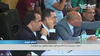 أحزاب سياسية مصرية تبحث الاندماج فيما بينها وتفعيل دور المعارضة
