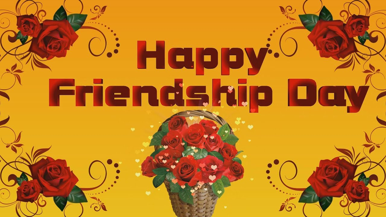 Happy Friendship Day 2018,Wishes,Whatsapp Video,Greetings ...