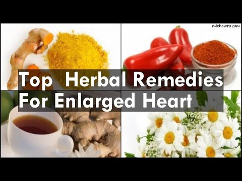 Top  Herbal Remedies For Enlarged Heart