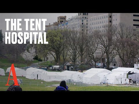 The Surreal Field Hospital In Central Park