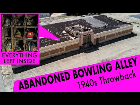 Urban Exploring A Historical Bowling Alley | Abandoned Places