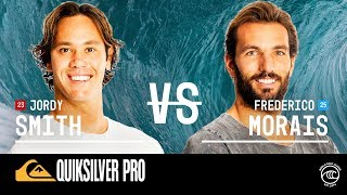 Jordy Smith vs. Frederico Morais - Round of 32, Heat 1 - Quiksilver Pro France 2019