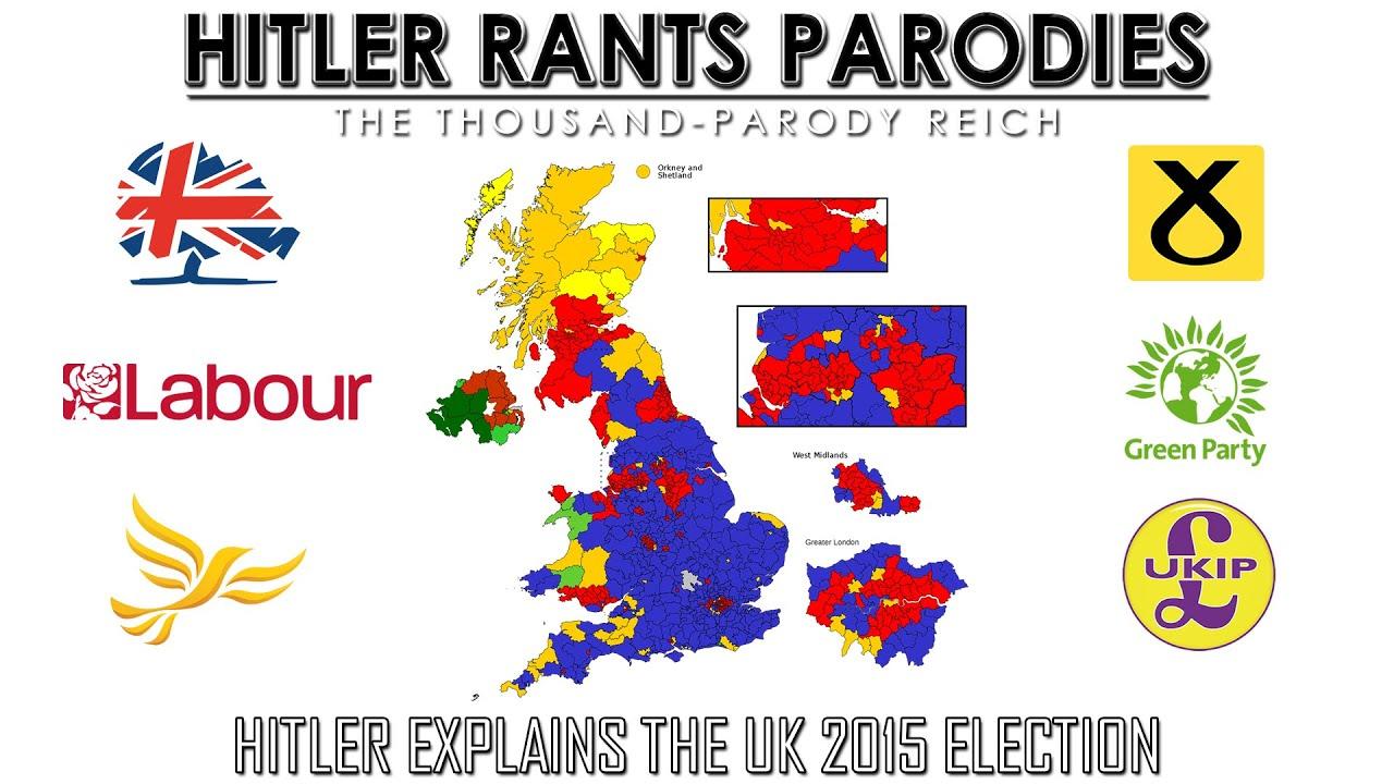 Hitler explains the UK 2015 election