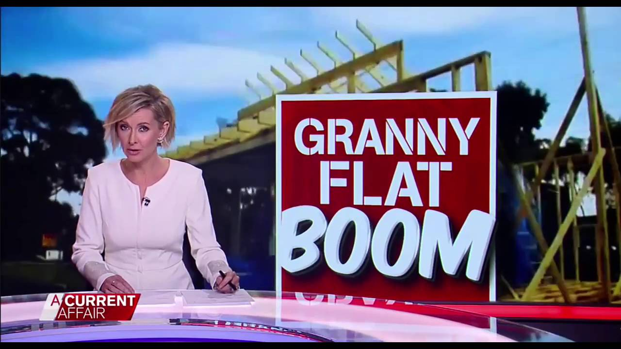 IBuild Granny Flats Featured On Channel 9 A Current Affair Program