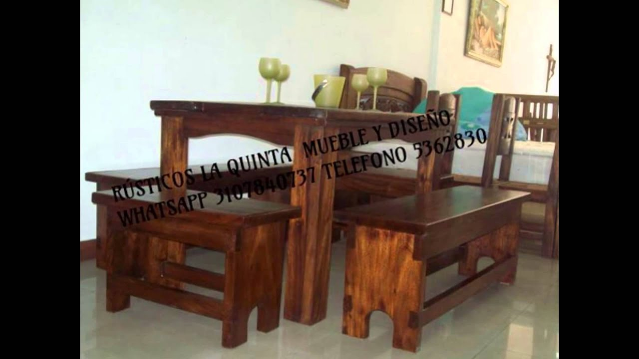 Fabrica de muebles r sticos la quinta youtube for Fabrica de muebles rusticos