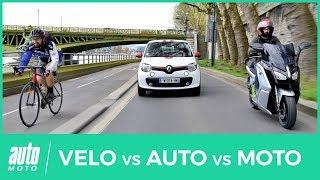 Voiture, scooter ou vélo : qui est le plus rapide à Paris ? (TEST)