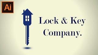 Kilit & Anahtar bir Logo Tasarımı Adobe Illustrator CC Öğretici
