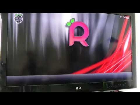 Raspberry PI / Raspbmc / XBMC Installation Schritt für Schritt – Auf Deutsch Video