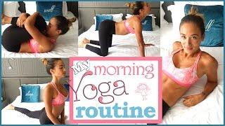 Meine Morgenroutine - Übungen gegen Rückenschmerzen - Yoga für Anfänger - Verspannungen lösen