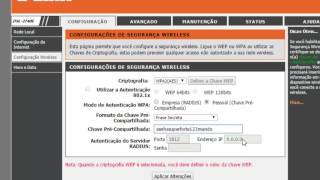 Configurar a rede Wireless no  modem DSL2740E da GVT / VIVO/ OI / SPEED