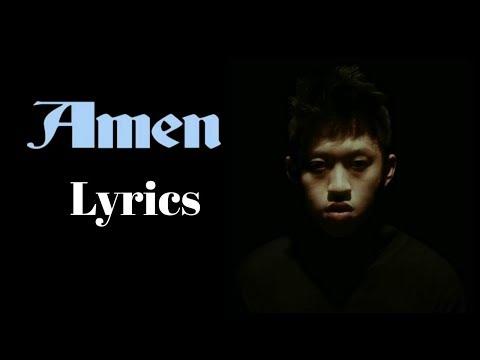 Rich Brian - Amen (Lyrics)