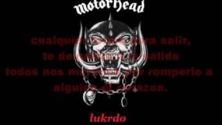 Love Me Forever - Motörhead (Traduccion)