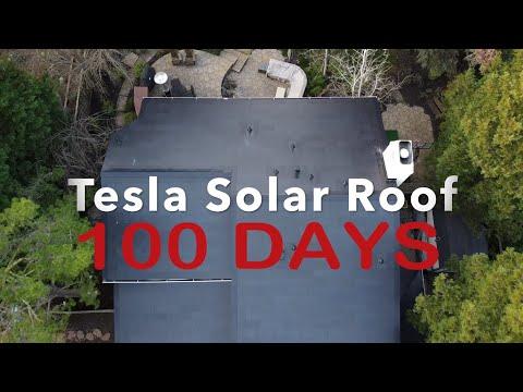 Tesla Solar Roof - 100 Days After Installation