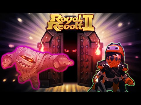 Royal Revolt 2 - Dungeon - Crypt of the Living Dead IV (4) (Boosted Troops)