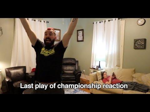 Alabama football last play reaction