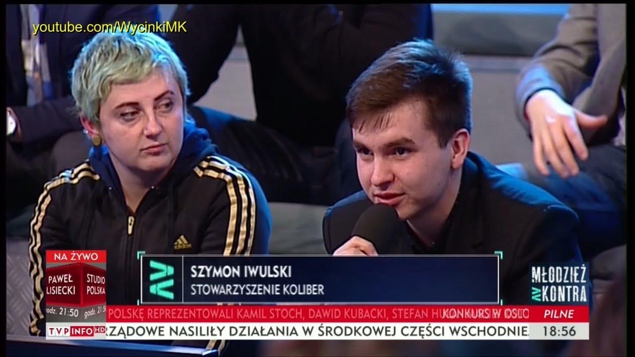 Młodzież kontra 632: Szymon Iwulski (Stow. Koliber) vs Marcin Horała (PiS) 10.03.2018