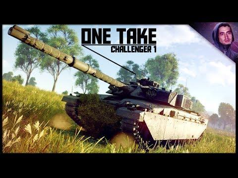 ONE TAKE    Challenger 1 (War Thunder Tanks Gameplay)