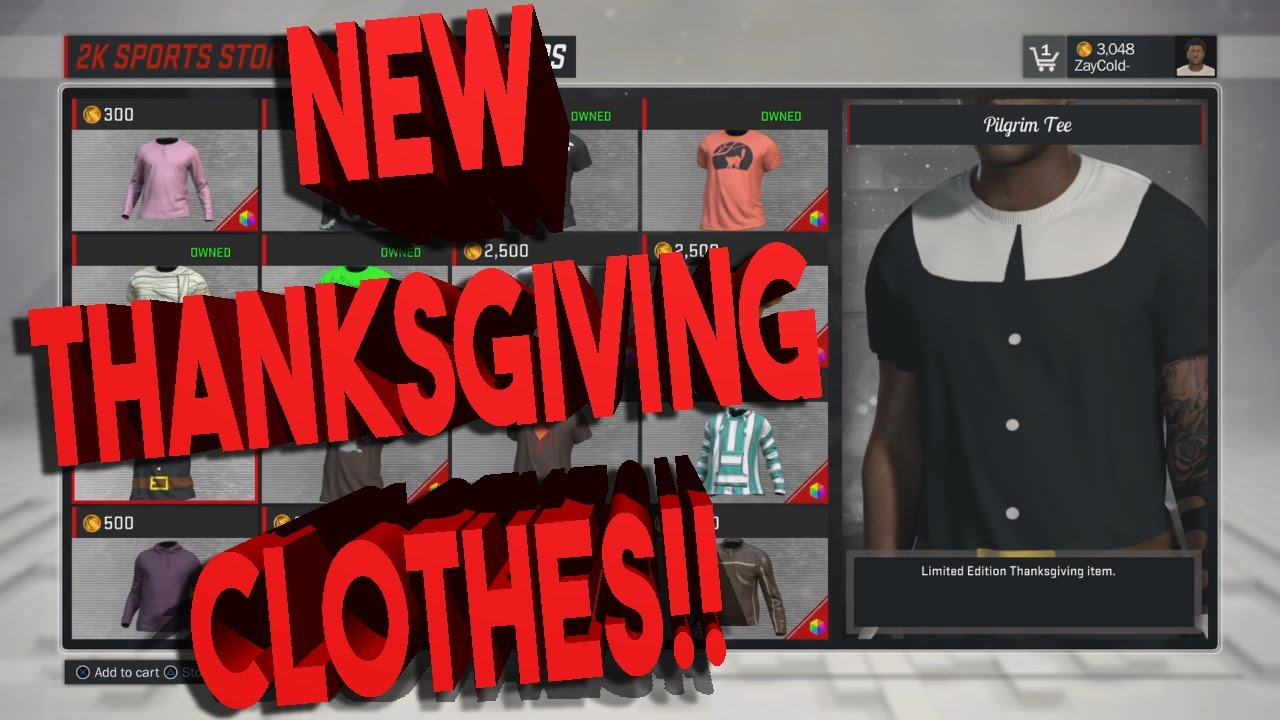 NBA 2K17 NEW THANKSGIVING CLOTHES | 2K WTF IS THIS ?!