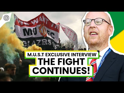 Fight Against The Glazers Goes On! | Exclusive Interview With MUST