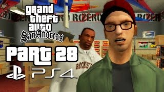 Grand Theft Auto San Andreas PS4 Gameplay Walkthrough Part 28 - NEW MODEL ARMY