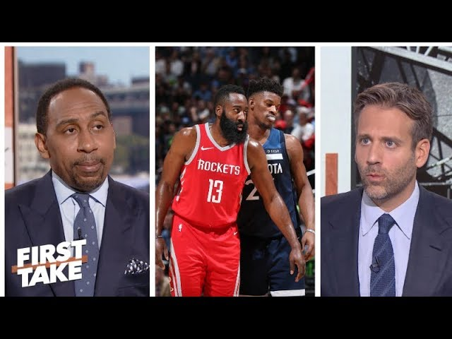 Stephen A., Max weigh chances of Jimmy Butler going to Rockets | First Take | ESPN