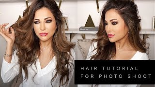 GET READY WITH ME HAIR TUTORIAL | Lina Noory
