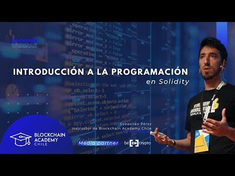 #bacOpenWebinar: Introducción a la programación en Solidity, con Sebastián Leo Pérez