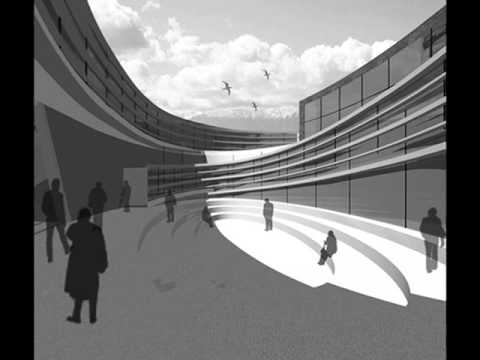 Heris Cultural Center- Azerbaijan 2012 Earthquake Memorial (Architectural Competition)