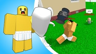 [as a block (Roblox)] lies for a variety of pillow fight game! I'll be the first! (Pillow Fight Simulator 2016) simple review & play video