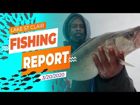 Lake St. Clair Fishing Report 3/20/20