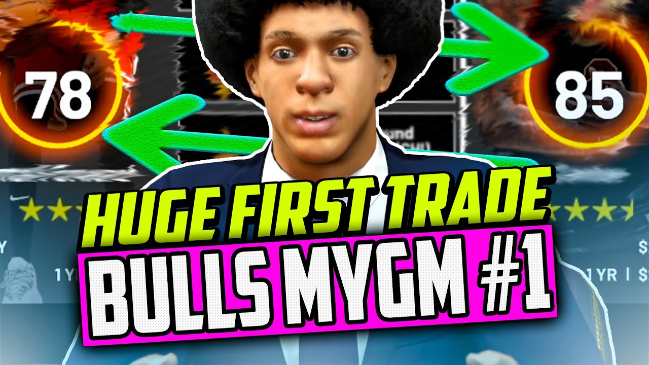 Download STARTING WITH A HUGE TRADE! Building Another Bulls Dynasty | NBA 2K21 MyGM #1