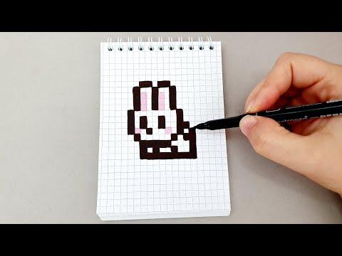 Вопрос: Как нарисовать кролика посредством ввода символов с клавиатуры?