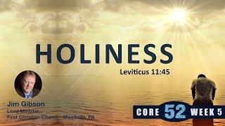 Core 52 -5- Holiness