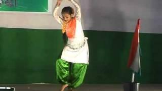 Patriotic Dance, Maa Tujhe Salam By Smrutilipsa Patel.mpg
