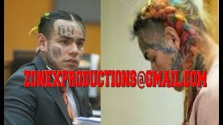 6ix9ine BREAKS down in court CRYIN moved to prison,apologizes to chief keef,yg(Emotional)