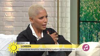 Hör Loreen berätta om det hyllde Polarpris-framträdandet - Nyhetsmorgon (TV4)