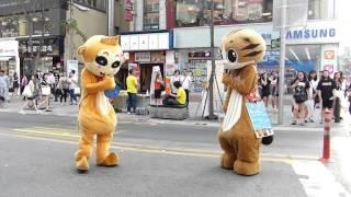 Mascot battle [Big Bang - Bang Bang Bang] Seoul