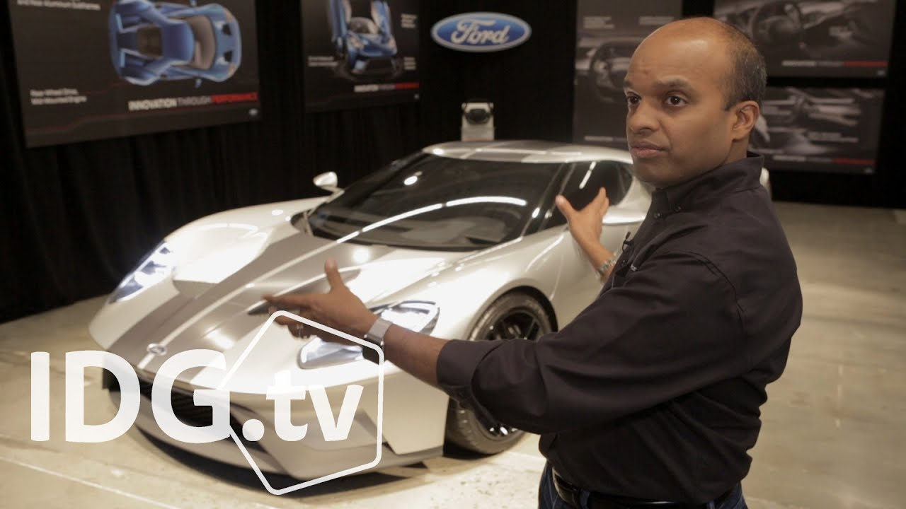 Ford GT: Meet the most high-tech car Ford has ever created - YouTube