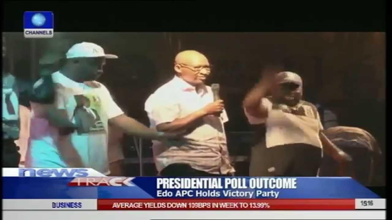 Download Obahiagbon Celebrates APC Victory With Oshiomhole