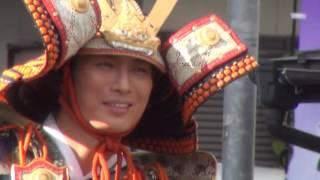 福島県国見町で行われた、今年で20回目となる「国見町義経まつり」で...