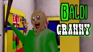 Baldi Granny Full Gameplay
