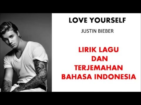 LOVE YOURSELF - JUSTIN BIEBER (COVER) | LIRIK LAGU DAN TERJEMAHAN BAHASA INDONESIA
