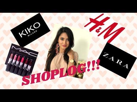 SHOPLOG # 5 | ZARA, KIKO, H&M, MAC & JEWELBEADS | Madilia Sarwary |